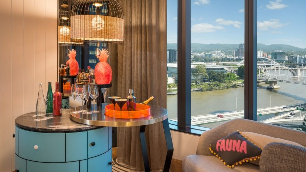 The W Hotel Brisbane is one you just don't want to leave.