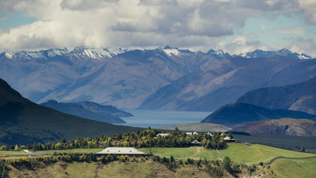 You won't have to share the spectacular alpine views with the crowds at the exclusive Mahu Whenua Lodge near Wanaka.