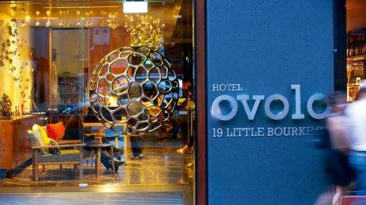 Ovolo Laneways, Melbourne, is among the firm's nine hotels in Australia.