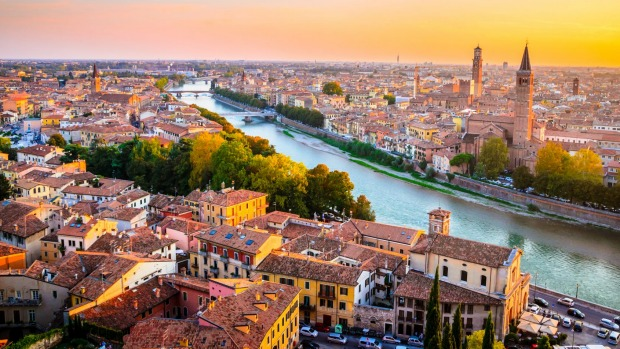The alternative to overcrowded Venice: Verona.