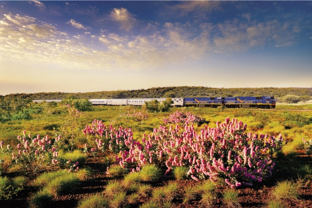 The Indian Pacific, Australia: Back before cheap flights cornered the market, the train journey across the Australian ...