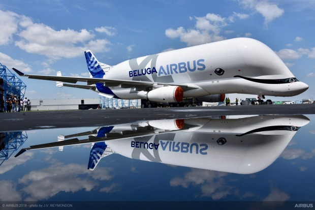 Airbus is building five of the new XL Belugas.