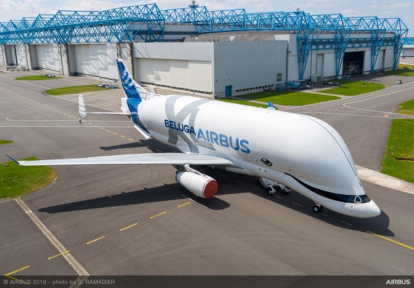 Earlier versions of the Airbus Beluga are modified A300s. The new, larger XL is based on an Airbus A330.