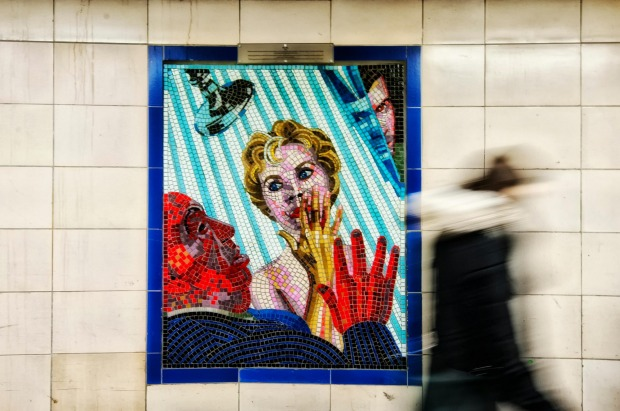 London: Leytonstone has mosaics commemorating Alfred Hitchcock. Many of the most gorgeous facades are the work of Leslie ...