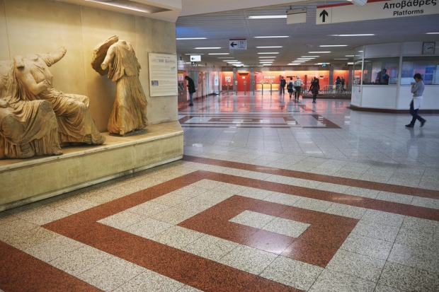 ATHENS, GREECE: When the Athens Metro was being built, the excavations uncovered all manner of historical treasures. ...