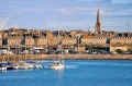 The walled city of Saint-Malo, Brittany.