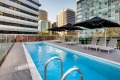 Vibe Hotel North Sydney's rooftop pool.
