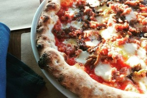 Tribute Pizza at Molto Autentico is great example of an American pie.