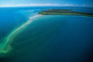Peel Islands' clear blue water and flotilla of visiting boats will remind you of the Whitsundays.