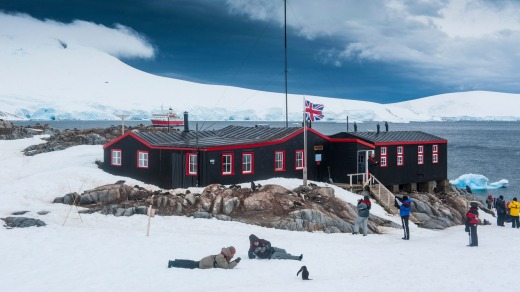 Port Lockroy research station, Antarctica.