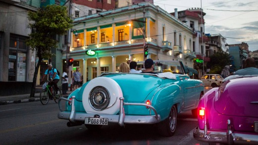 Cubans don't drive 1950s Chevrolets, Buicks, Dodges and Cadillacs because of their deep passion for classic American ...