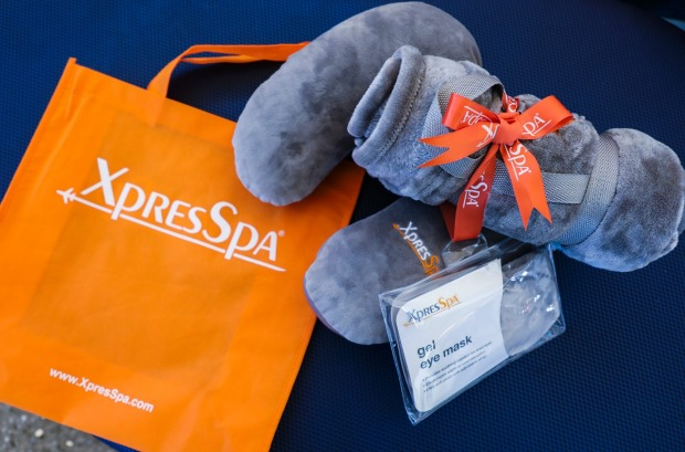 Goodies from Xpress Spa.