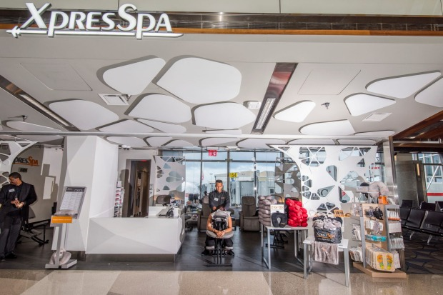 Xpress Spa at Tom Bradley.