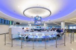 The improved Los Angeles International Airport: Blu2 Bar at T6, the 'Sunset Boulevard' of LAX.