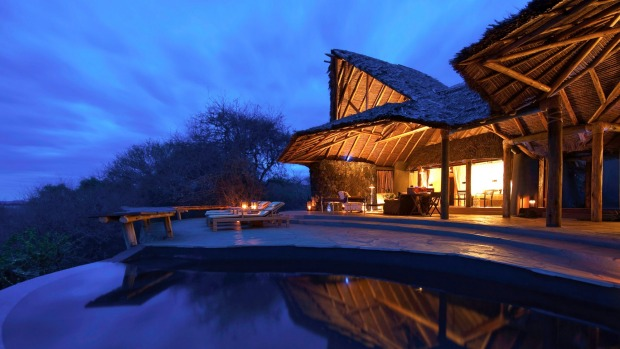 Ol Donyo Lodge in Kenya is set in with 1100 square kilometres of private wilderness and offers game-spotting galore.