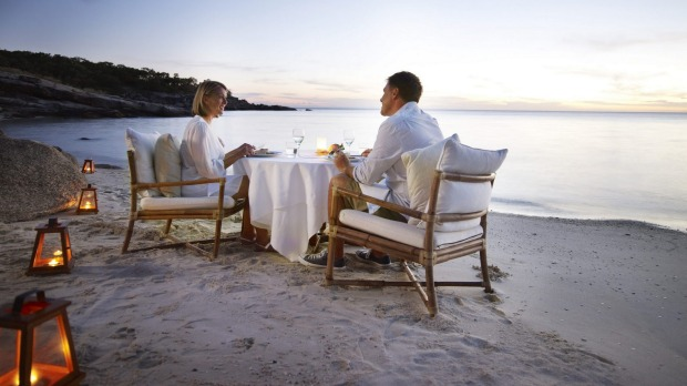 Lizard Island's babymoon package includes mocktails on arrival.