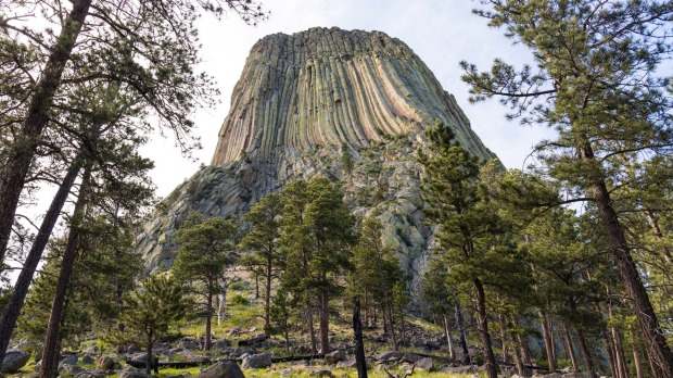 Devils Tower, Wyoming. This iconic monolith had a starring role in which Steven Spielberg movie?