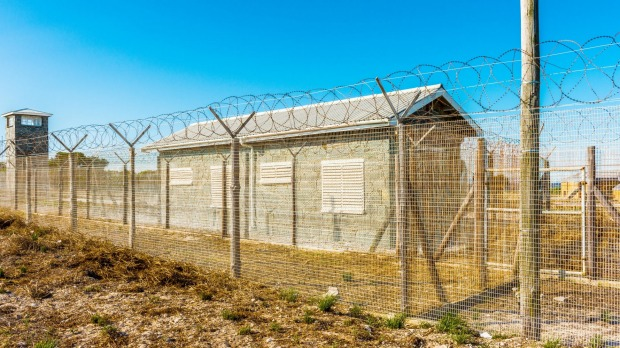 The prison on the Robben Island where Nelson Mandela spent 18 of the 27 years he served behind bars.