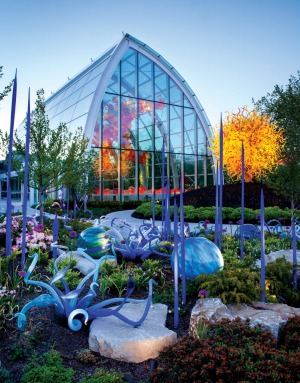 Chihuly Garden, Seattle.