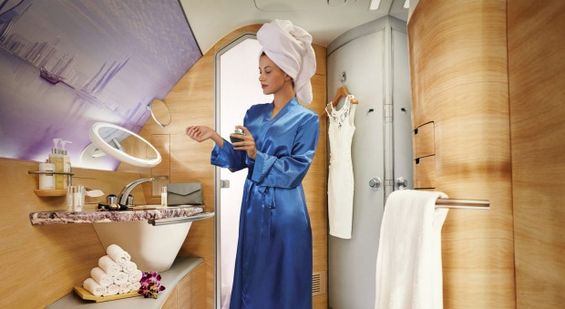 You can book a shower, with five blissful minutes of hot water and 30 minutes access to a vast spa-like bathroom.