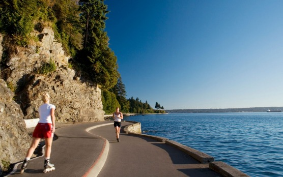The Seawall, Vancouver: Originally constructed as a way of combatting coastal erosion around Vancouver's ever-popular ...