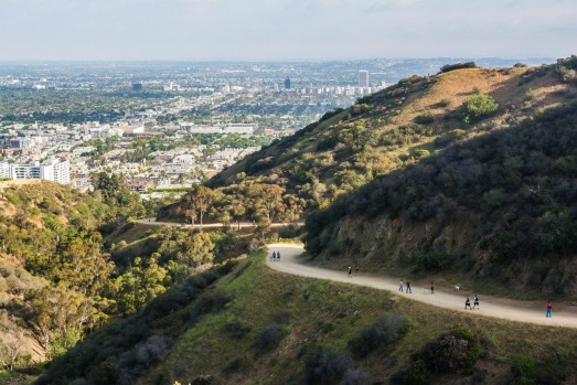 Runyon Canyon, Los Angeles: Two blocks away from the madness of Hollywood Boulevard, Runyon Canyon is the celeb jogging ...