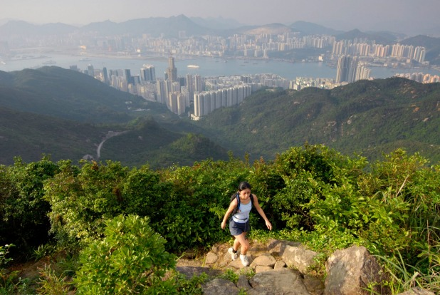 The Hong Kong Trail, Hong Kong: For a densely-packed, high rise city, Hong Kong has a surprising number of places to ...