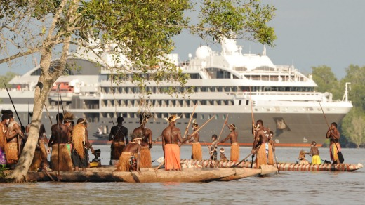 Ponant in West Papua.