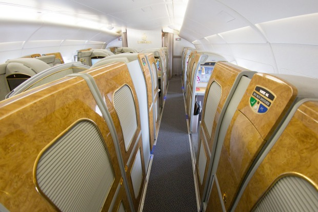 Emirates boasts it is the closest you can get to flying in your own private plane.