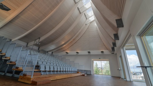 The Utzon Center Aalborg.
