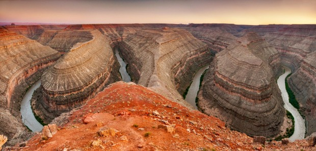 Goosenecks State Park, Utah: This tiny state park serves a single purpose - to give tourists a view over the incredible ...