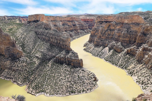 Bighorn Canyon, Wyoming: The most overlooked tourist attraction in Wyoming, Bighorn Canyon is the third largest is the ...