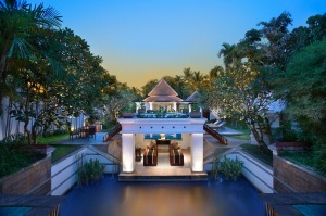 A villa at the Banyan Tree Phuket Spa Sanctuary, Thailand.