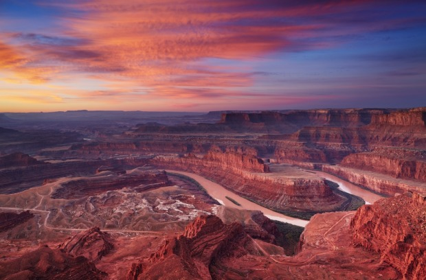 Canyonlands, Utah: There are four districts, but most head to Island in the Sky to admire the canyons from overlooks ...
