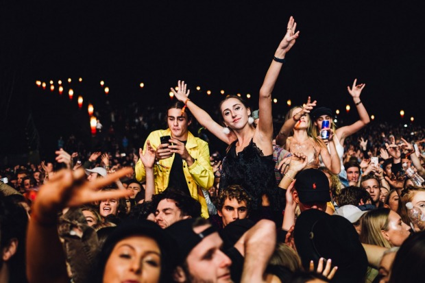 Byron Bay is home to the annual Australian music festival Splendor on the Grass.