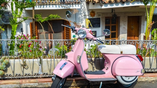 A scooter is the best way to get up close and personal with Sicily.