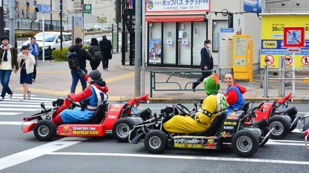 Maricar Osaka Where You Can Go Mario Kart Ing In Japan