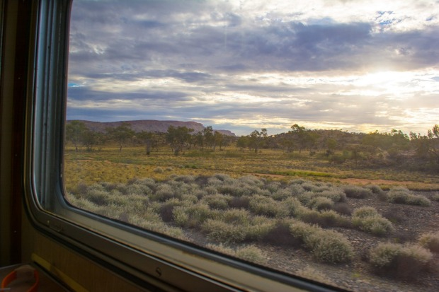Scenery from The Ghan.