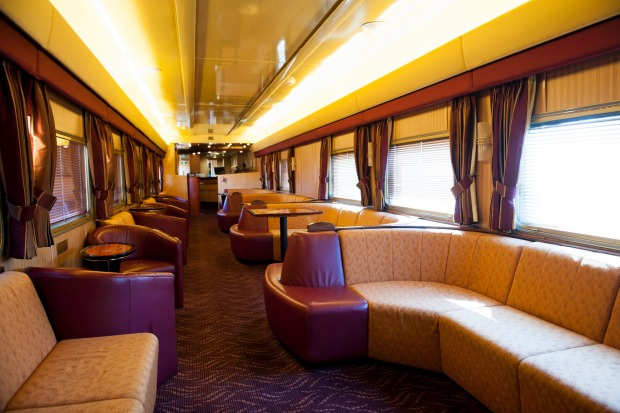Lounge on The Ghan.