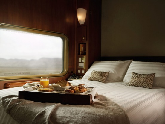 Platinum Service on The Ghan.