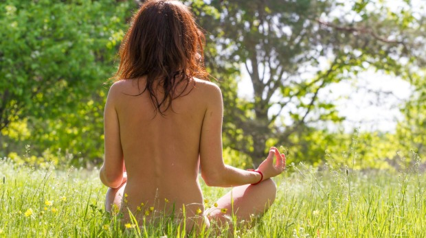Namaste-and perform naked yoga in France.