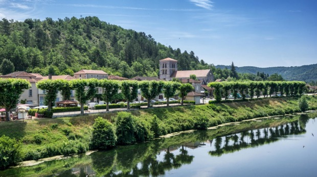 Luzech is a small village on the Lot river in the Lot Valley in south-east France.