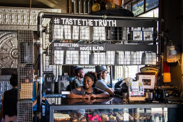 Truth Cafe, District 6, Cape Town, South Africa.