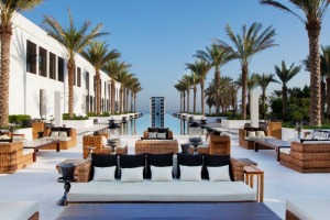 Zen luxury: The Long Pool at the Chedi Hotel Muscat, Oman.
