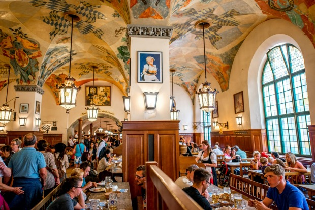 The Hofbräuhaus, Munich, Germany: Every Bavarian will tell you that the Hofbräuhaus in Munich is the theme park of beer ...