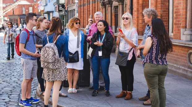 Delicious Dublin food tour with Ketty Quigley.