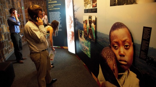 The Rwandan Genocide Memorial Museum is near Kigali, the nation's capital.