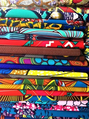 There is plenty of choice when it comes to picking a kitenge in Brazzaville.