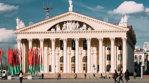 The Culture House Of Trade Unions Of Belarus is among some of the top architecture to be found in Minsk.