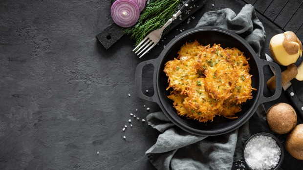 Potato pancakes may well be the national dish of Belarus.